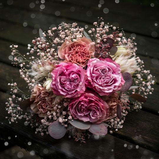 Hochzeitsfotografie | Brautstrauss