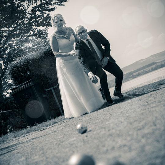 Hochzeitsfotografie-Boules