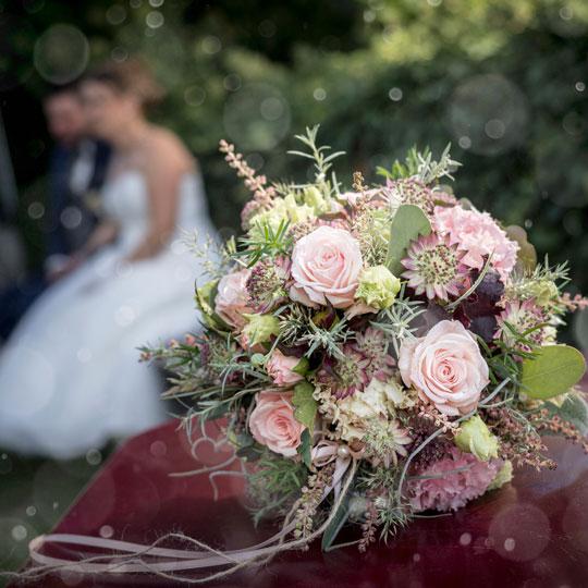 Hochzeitsfotografie-Brautstrauss