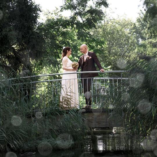 Hochzeitsfotografie-Bruecke